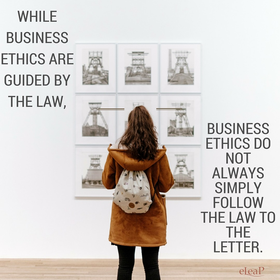 Training to Promote Ethics in Business