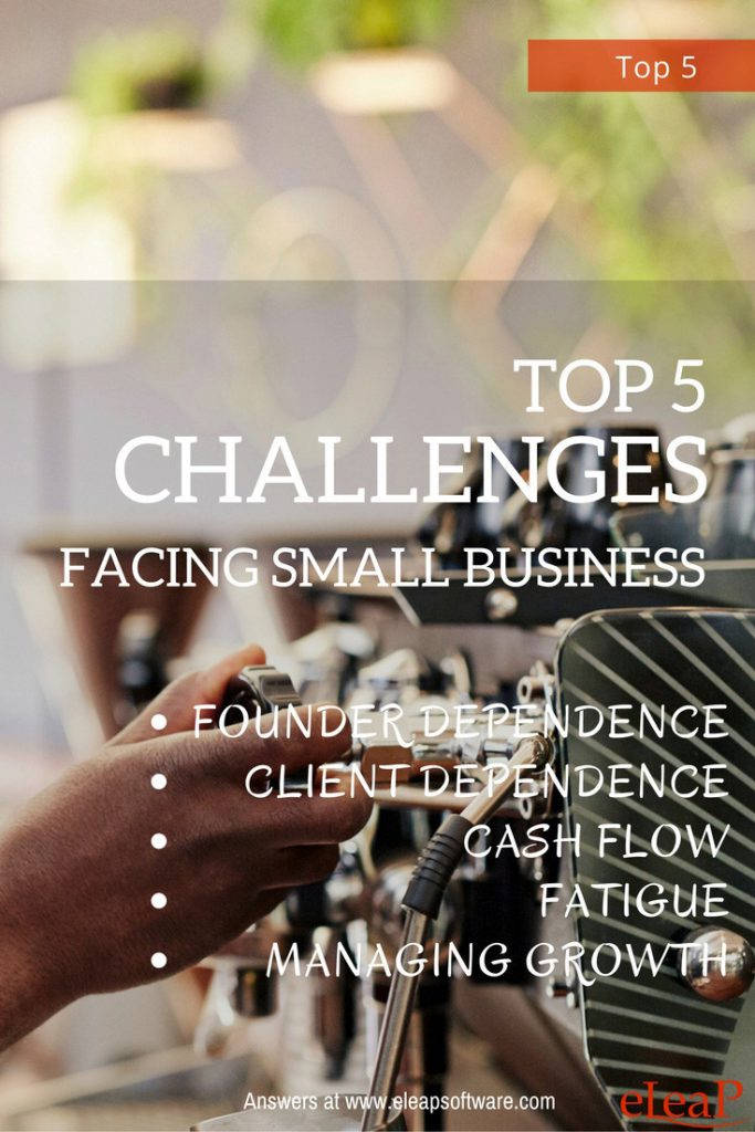 Top Five Challenges Facing Small Businesses